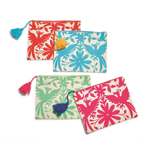 Embroidered Multipurpose Pouch