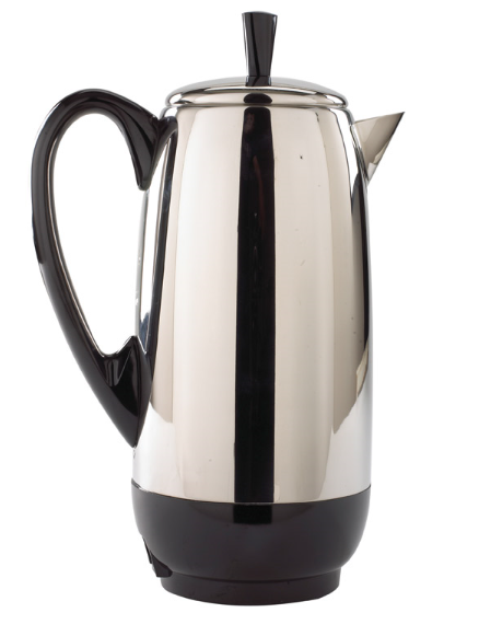 Farberware 12 cups Black/Silver Percolator