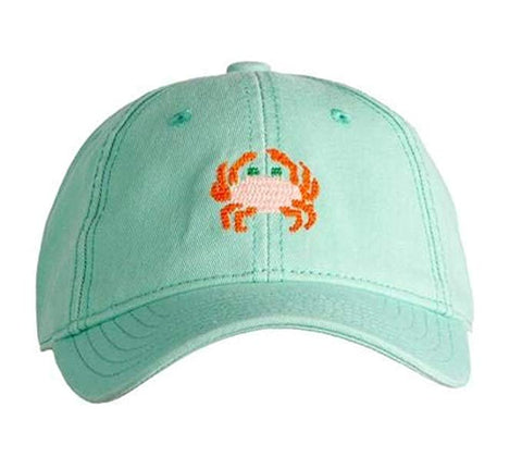 Kids Crab on Green Hat