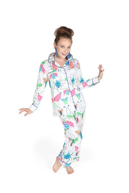 Snuggle Bugs Sateen Pajama Pants Set