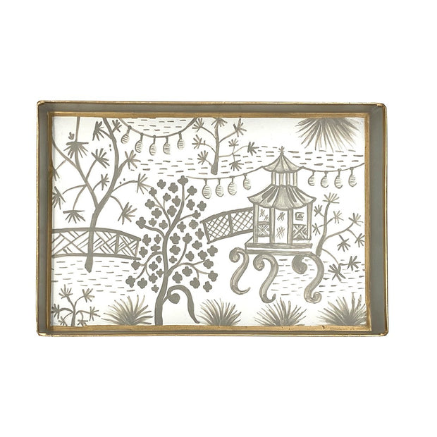 "Garden Party Oliver Tray - 10"" x 12"""