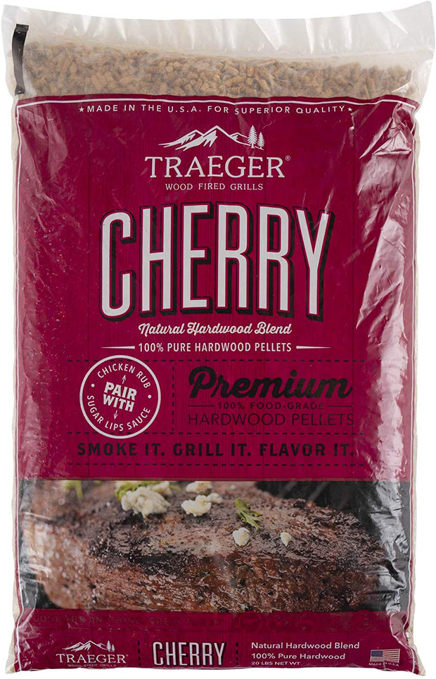 Traeger Cherry BBQ Wood Pellets - 20lb