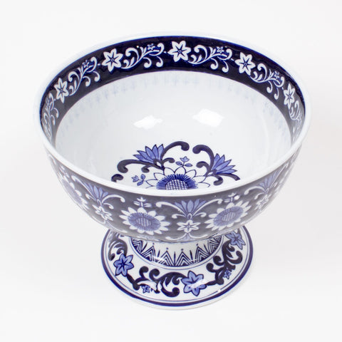 Blue Chinoiserie Fruit Bowl