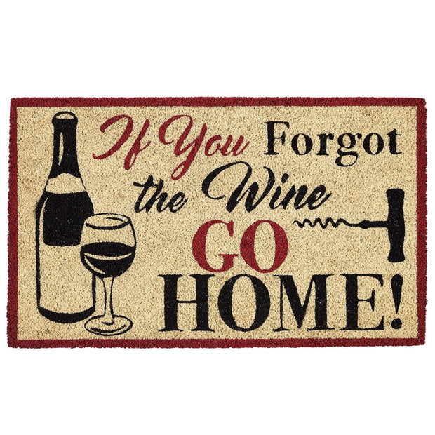 Forgot the Wine Doormat