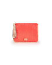 Consuela Anything Goes Coral Pouch Clutch