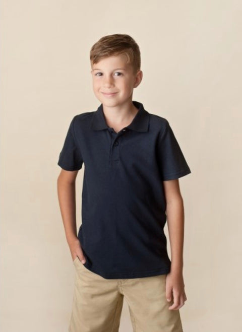 Polo Shirt, Short Sleeve - Navy