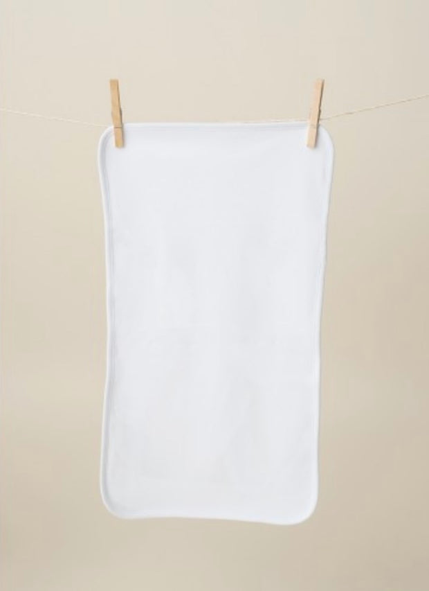 Burp Cloth - White