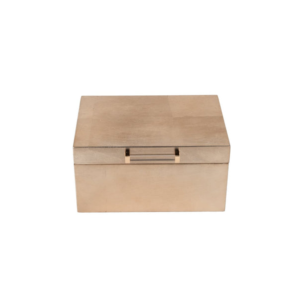 Athena Gold Jewelry Box