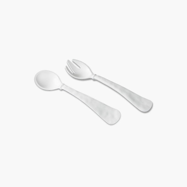 Beatriz Ball Vida Nube White Salad Servers