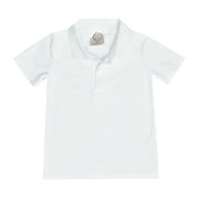 Polo Shirt, Short Sleeve - White