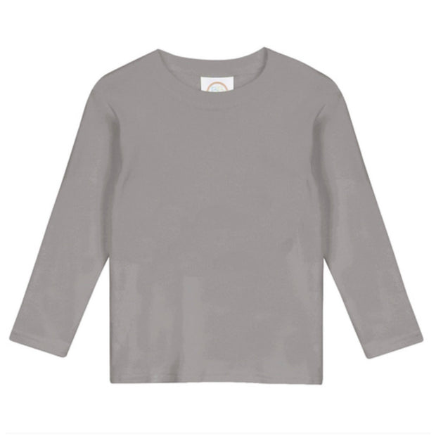 Boy's Long Sleeve Tee - Gray
