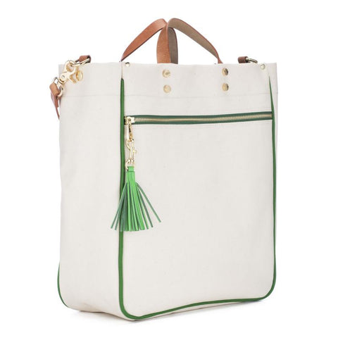 Parker Canvas Tote - Grass
