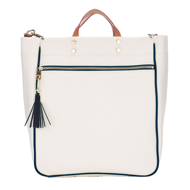 Parker Canvas Tote - Sailor