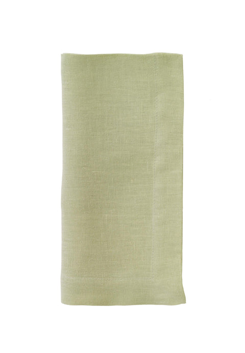 Riviera Stonewashed Cotton Dinner Napkins - Willow