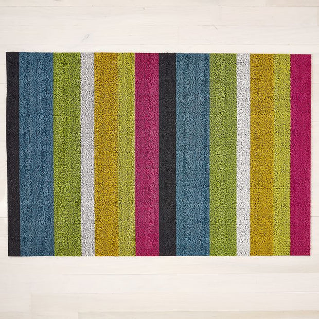 Chilewich Bold Multi Stripe Floormat 24 x 36