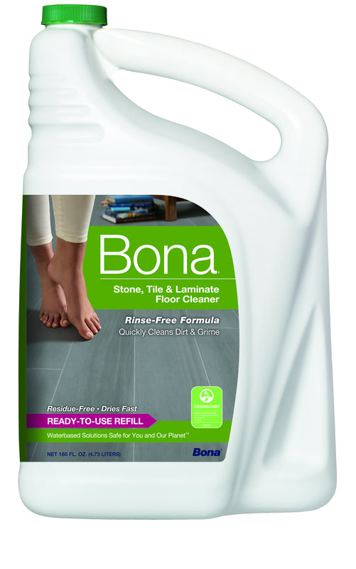Bona No Scent Floor Cleaner Refill Liquid - 160 oz