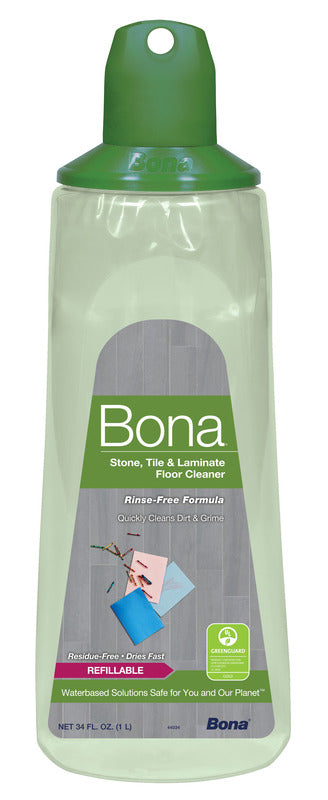 Bona No Scent Floor Cleaner Refill Liquid - 34 oz.