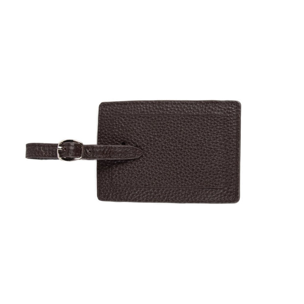 Standford Luggage Tag Brown
