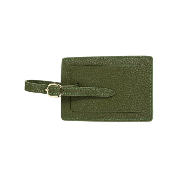 Standford Luggage Tag Forest Green