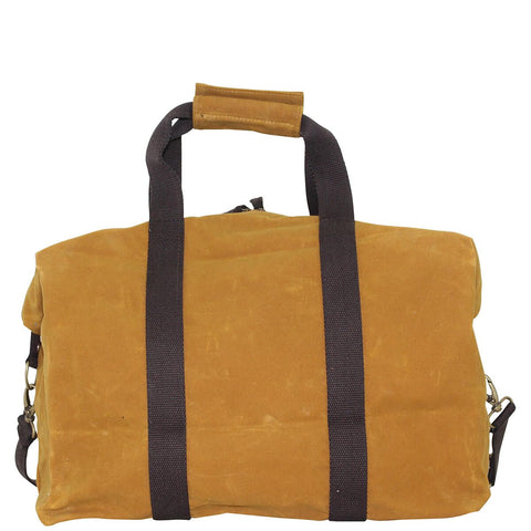 Waxed Canvas Voyager Weekender - Yellow