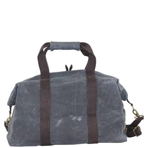 Waxed Canvas Voyager Weekender - Slate