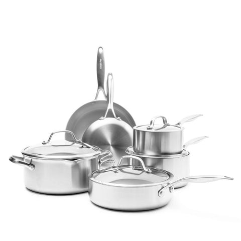 GreenPan Venice Pro Ceramic Non-Stick 10-Piece Cookware Set