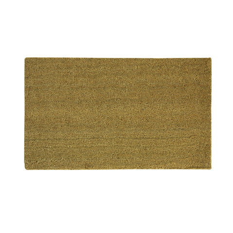 Blank Tan Coir Nonslip Door Mat - 36L x 24W