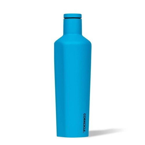 Corkcicle Neon Lights Canteen 25oz - Neon Blue