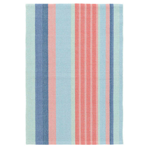 Dash & Albert Arube Stripe Woven Cotton Rug 2x3