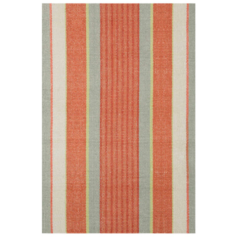 Dash & Albert Autumn Stripe Woven Cotton Rug 2x3