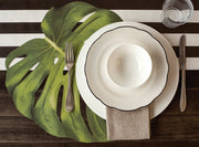 Hester & Cook Monstera Leaf Paper Placemats - 12 pk