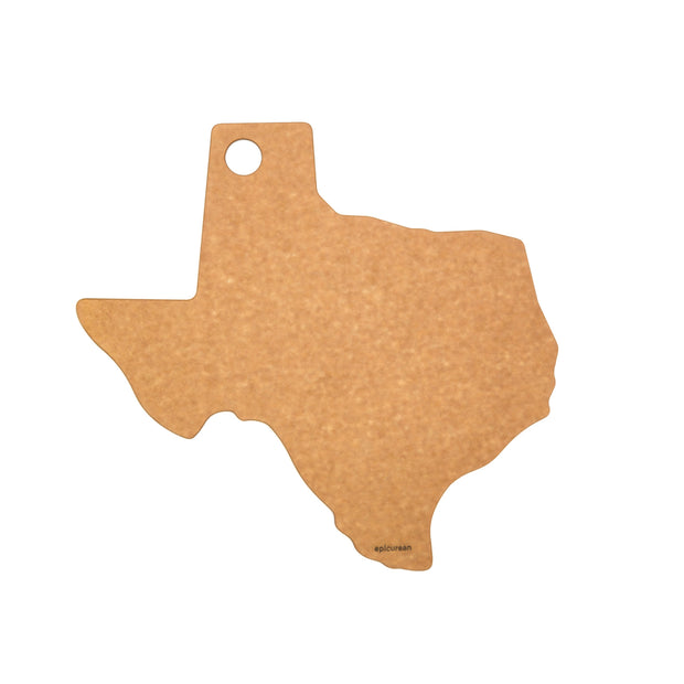 Epicurean Texas Shape Cutting Board