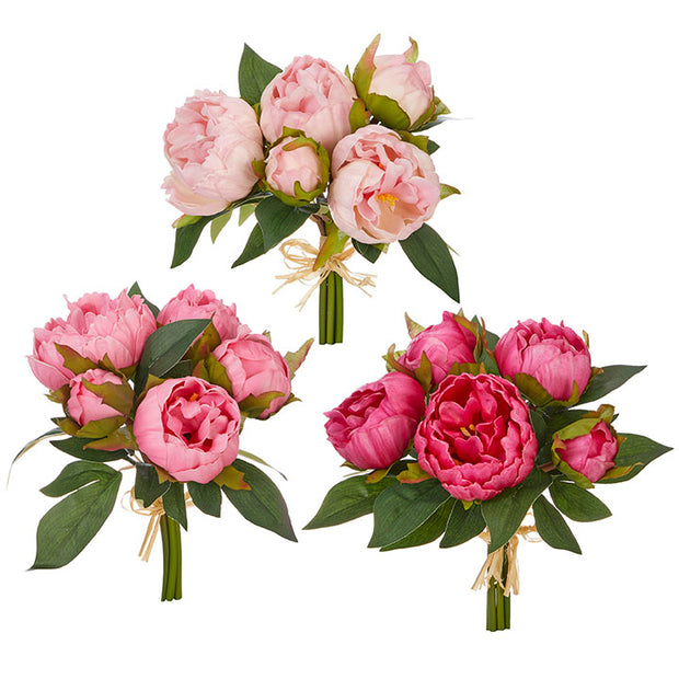 Real Touch Peony Bundle - Assorted