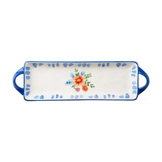 Fiori Platter with Handles