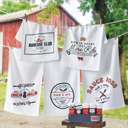 Barbeque Dishtowel - Assorted Styles