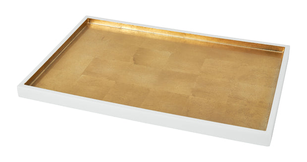 Gold Leaf Tray - 14 x 10