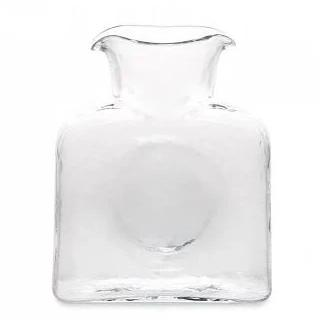 Blenko Glass Company Double Spouted Pitcher, Clear