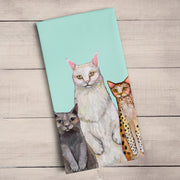 Cats Cats Cats Tea Towel