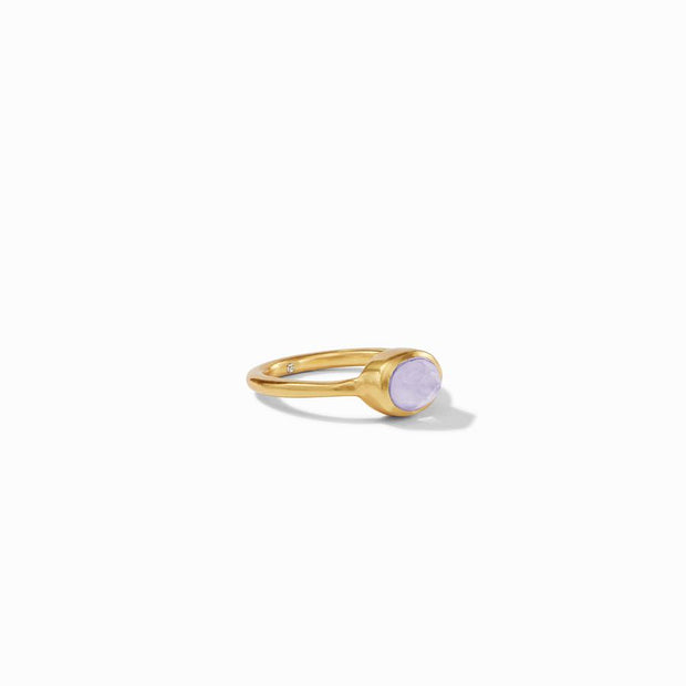 Julie Vos Jewel Stack Ring - Iridescent Lavendar