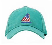 Kid's Sailboat on Seafoam Green Hat