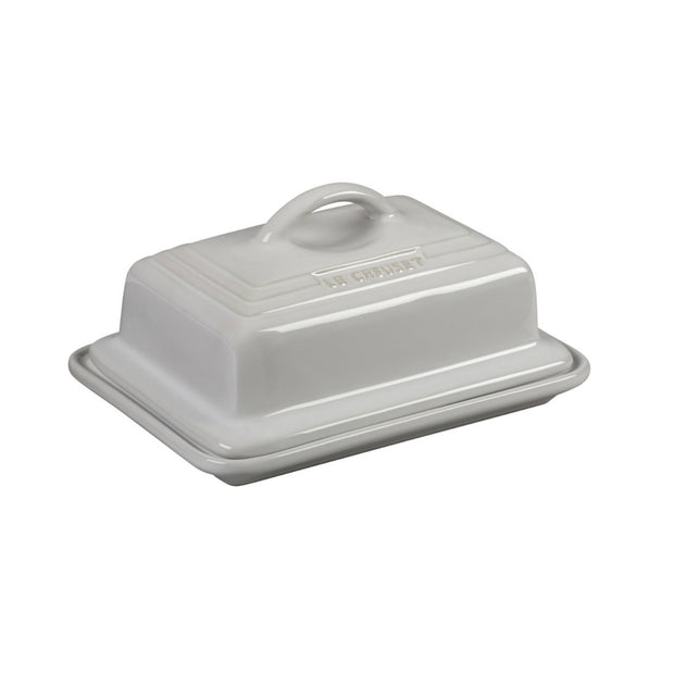 Le Creuset Heritage Butter Dish - White