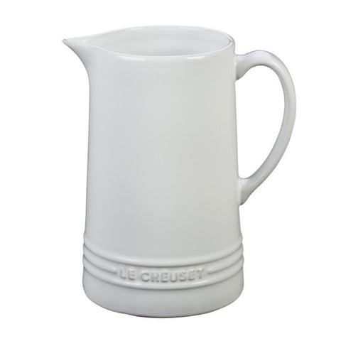 Le Creuset 1.6qt Pitcher - White