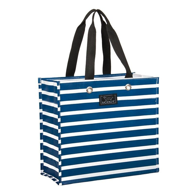 Large Package Gift Bag Nantucket Navy