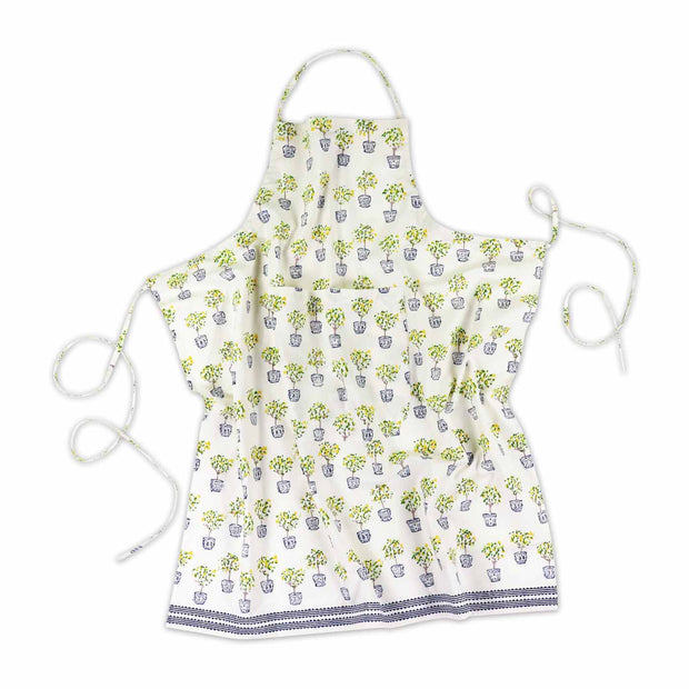 Lemon Topiary Apron