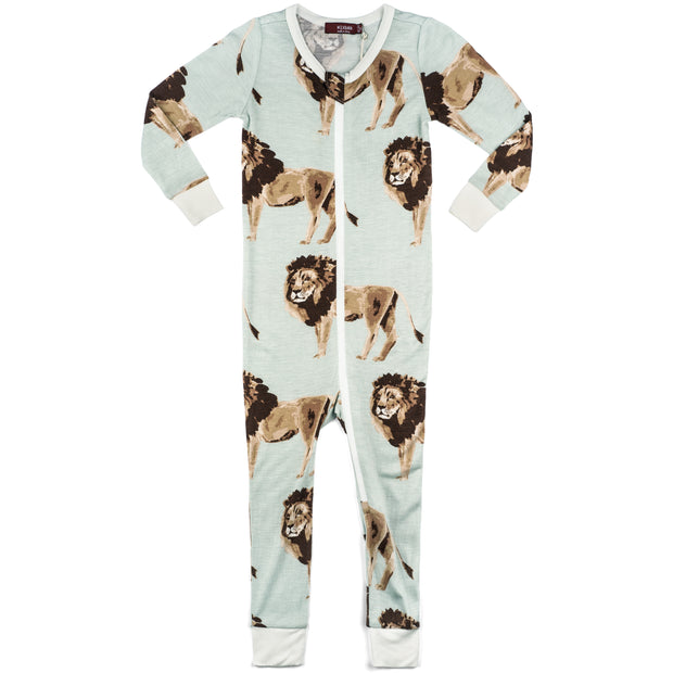 Lion Zipper Pajama