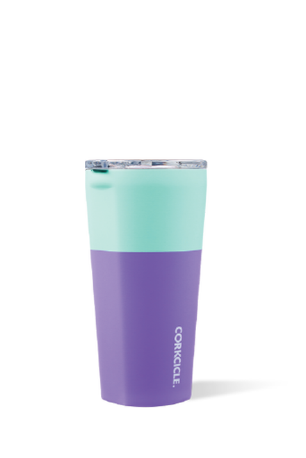 Corkcicle Color Block Tumbler 16oz - Mint Berry