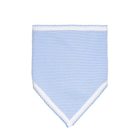 Blue Bubble Baby Bandana Bib