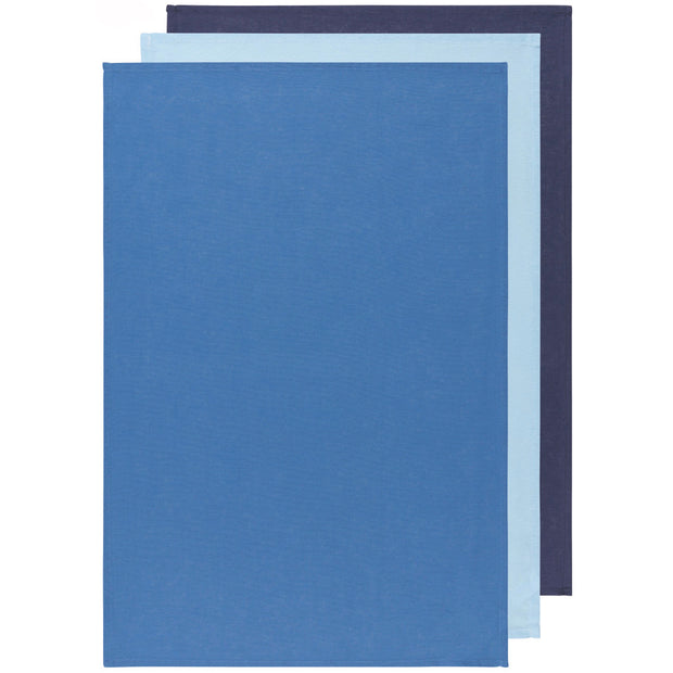 Indigo/Moonlight/Cool Blue Floursack Dishtowels