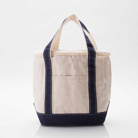 Small Lunch Cooler Tote - Navy