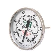 Grill Temperature Gauge Dial 3in